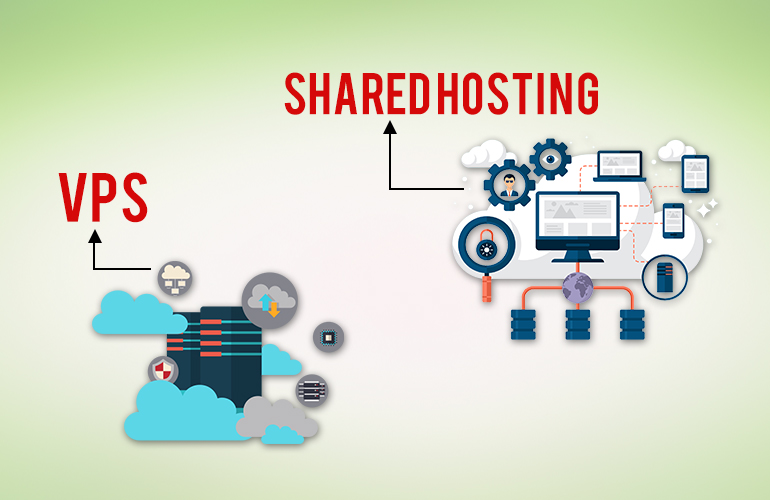 VPS Hosting and Shared Hosting
